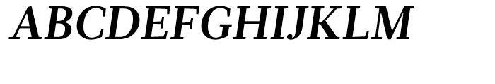 Glosa Bold Italic Font UPPERCASE