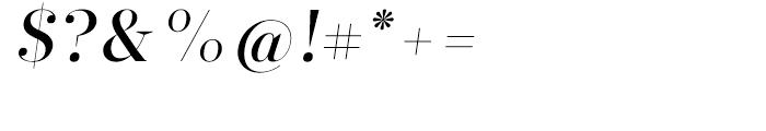 Glosa Display Medium Italic Font OTHER CHARS