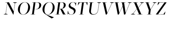 Glosa Display Medium Italic Font UPPERCASE