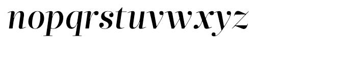 Glosa Display Medium Italic Font LOWERCASE