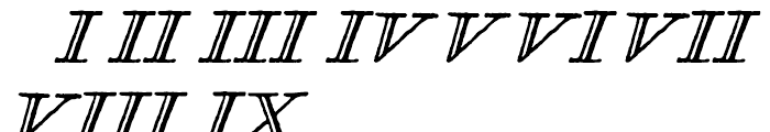 Glosilla Castellana Cursiva Font OTHER CHARS