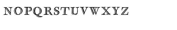 Glosilla Castellana Regular Font LOWERCASE