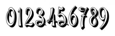 Gladly Rococo Narrow Font OTHER CHARS