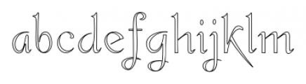 Gladly Wisp Regular Font LOWERCASE