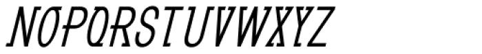 GL Benicassim Bold Oblique Font UPPERCASE