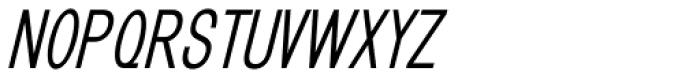 GL Benicassim Sans Bold Oblique Font UPPERCASE