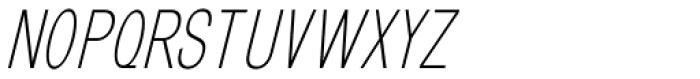 GL Benicassim Sans Oblique Font UPPERCASE