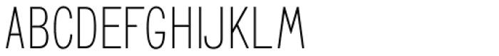GL Benicassim Sans Font UPPERCASE