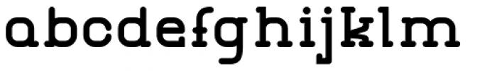 GL Miraflores Bold Font LOWERCASE