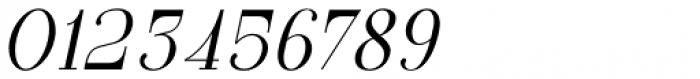 GL Parla M Italic Font OTHER CHARS