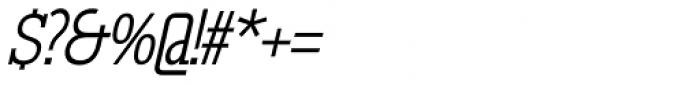 GL Tetuan M Cursive Font OTHER CHARS