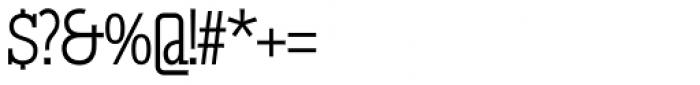 GL Tetuan M Font OTHER CHARS