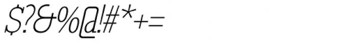 GL Tetuan S Cursive Font OTHER CHARS