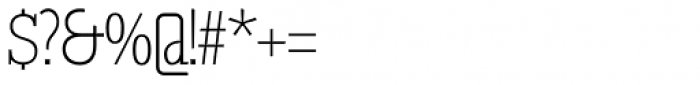 GL Tetuan S Font OTHER CHARS