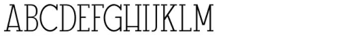 GL Tetuan S Font UPPERCASE