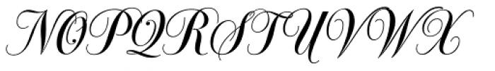 Glade Extra Narrow Font UPPERCASE