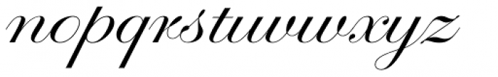 Glade Extra Wide Font LOWERCASE
