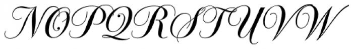 Glade Narrow Font UPPERCASE
