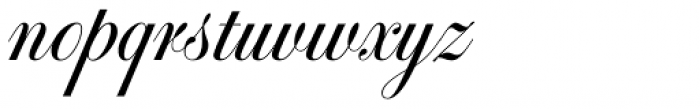 Glade Narrow Font LOWERCASE