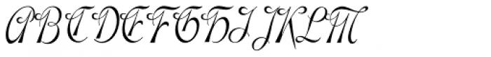 Gladly Oblique Narrow Font UPPERCASE