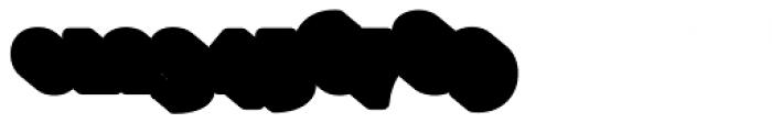 Glatt Heavy Shadow Font OTHER CHARS