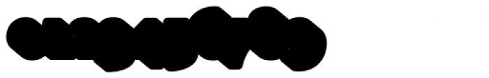 Glatt Italic Heavy Shadow Font OTHER CHARS