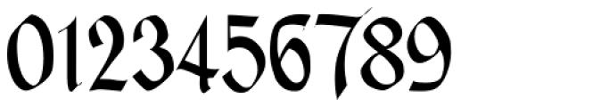Glendower Font OTHER CHARS