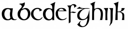 Glendower Font UPPERCASE