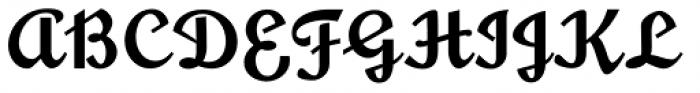 Glengary NF Font UPPERCASE