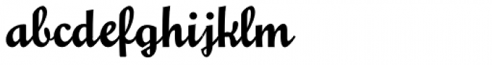 Glengary NF Font LOWERCASE