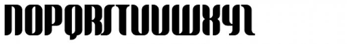 Glide Font UPPERCASE