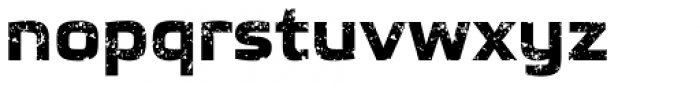 Glint Rough Font LOWERCASE