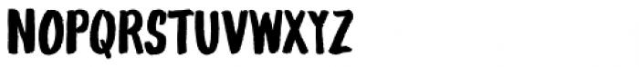 Gliny Hand Dense Font LOWERCASE
