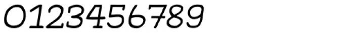 Gliny Hand Slab 100 Italic Font OTHER CHARS