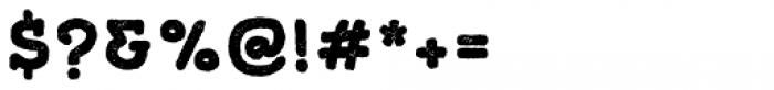 Gliny Hand Slab Press Font OTHER CHARS