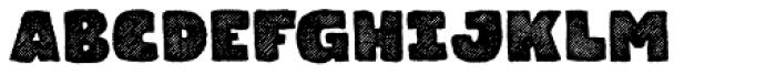 Gliny Heavy Rasp Font UPPERCASE
