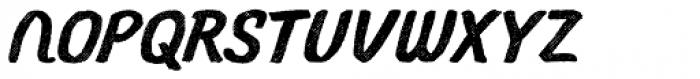 Gliny Script Rasp Font UPPERCASE