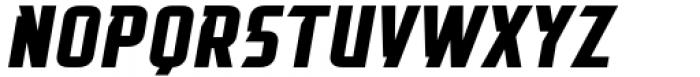 Glitch Esports Italic Font UPPERCASE