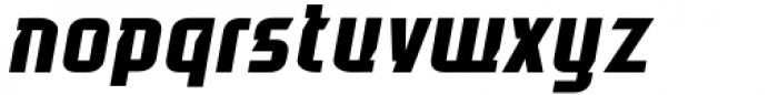Glitch Esports Italic Font LOWERCASE