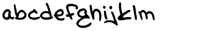 Glitter Girl Regular Font LOWERCASE