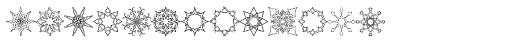 Glitter Medley Font LOWERCASE
