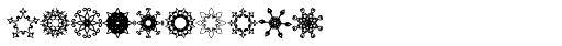 Glitter Stencil Font OTHER CHARS