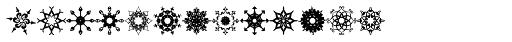 Glitter Stencil Font UPPERCASE