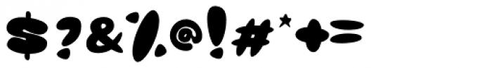 Glob Font OTHER CHARS