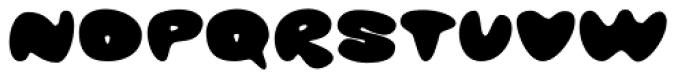 Glob Font UPPERCASE