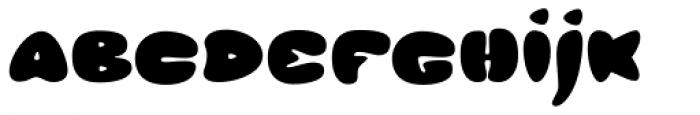Glob Font LOWERCASE