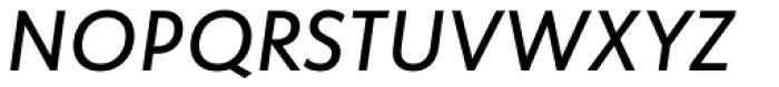 Globe Grotesk Display Medium Italic Font UPPERCASE