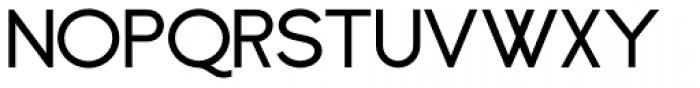 Glode Medium Font UPPERCASE