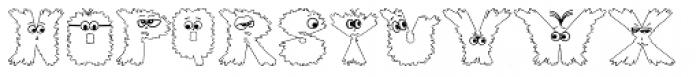 Gloo Biloo Font UPPERCASE