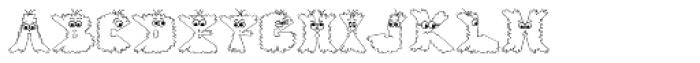Gloo Biloo Font LOWERCASE